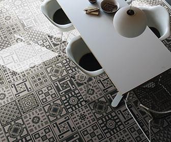 Piastrelle per pavimenti a mosaico appiani