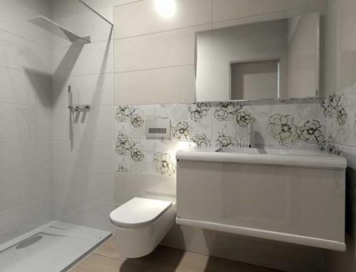 La luminosità nei dettagli dell'arredo bagno