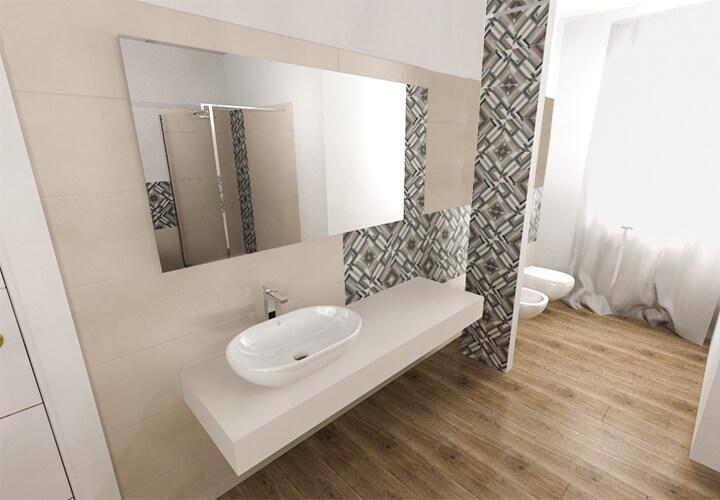 Il calore del pavimento in legno anche in bagno maes - Pavimento in legno per bagno ...