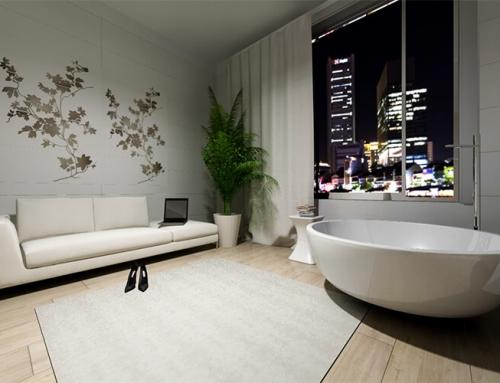 La vasca da bagno diventa opera d'arte