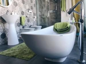 Vasche freestanding IO di Faminia