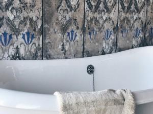 Rivestire le pareti con le piastrelle Tagina