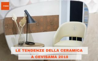 le tendenze della ceramica 2018