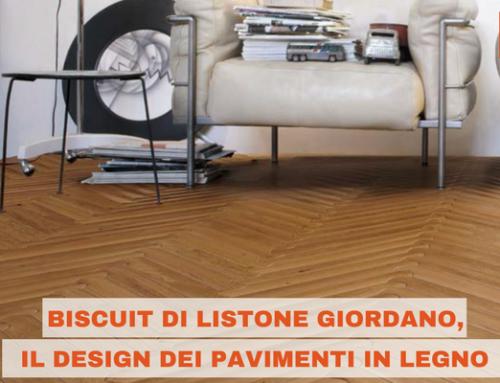 Biscuit di Listone Giordano, il design dei pavimenti in legno