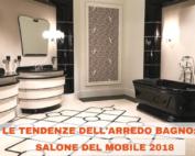Tendenze nell'arredo bagno Salone del Mobile