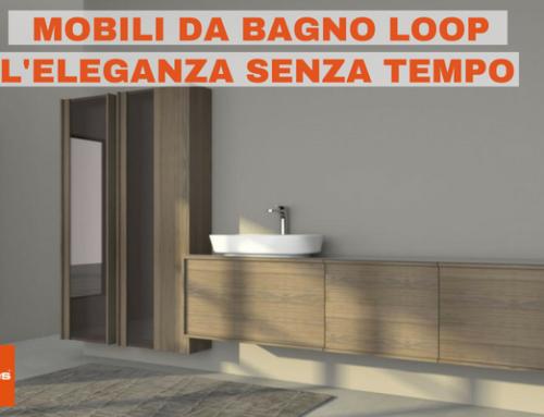 Mobili da bagno Loop, la nuova proposta di Stocco