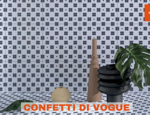Confetti di Vogue, le ceramiche in gres smaltato più esclusive