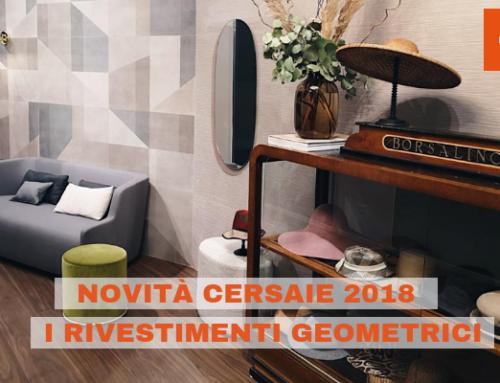 Novità Cersaie 2018: i rivestimenti geometrici