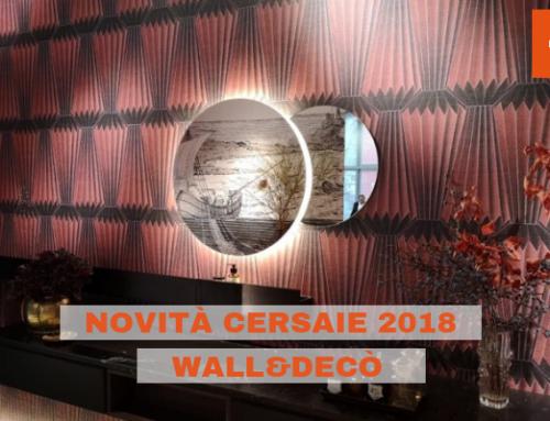 Wet System e Out System: le novità Wall&Decò a Cersaie 2018