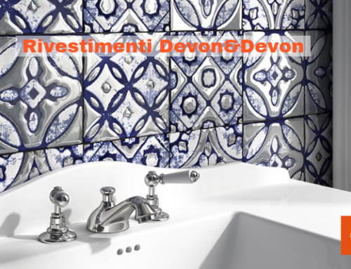 Rivestimenti Devon&Devon: Flora Tiles e Sicily Tiles