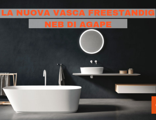 La nuova vasca freestanding Neb di Agape