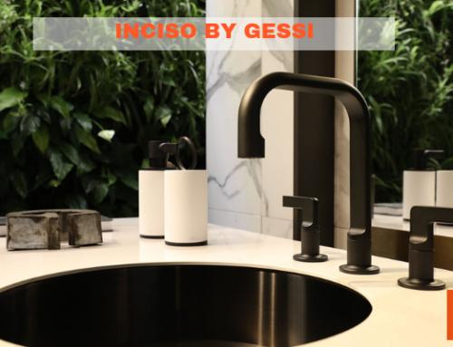 Inciso by Gessi: il rubinetto dal design americano