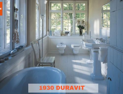 1930 Duravit: il vero classico per il bagno